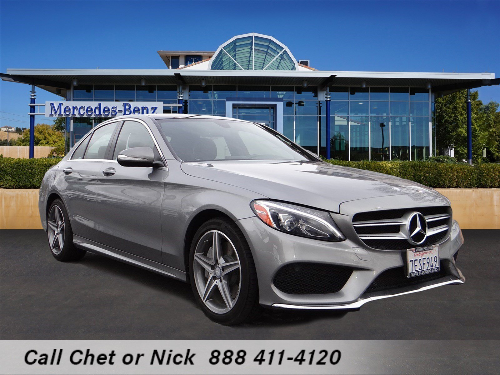 Certified pre owned 2015 mercedes benz c class c300w4 4dr for Mercedes benz c class pre owned