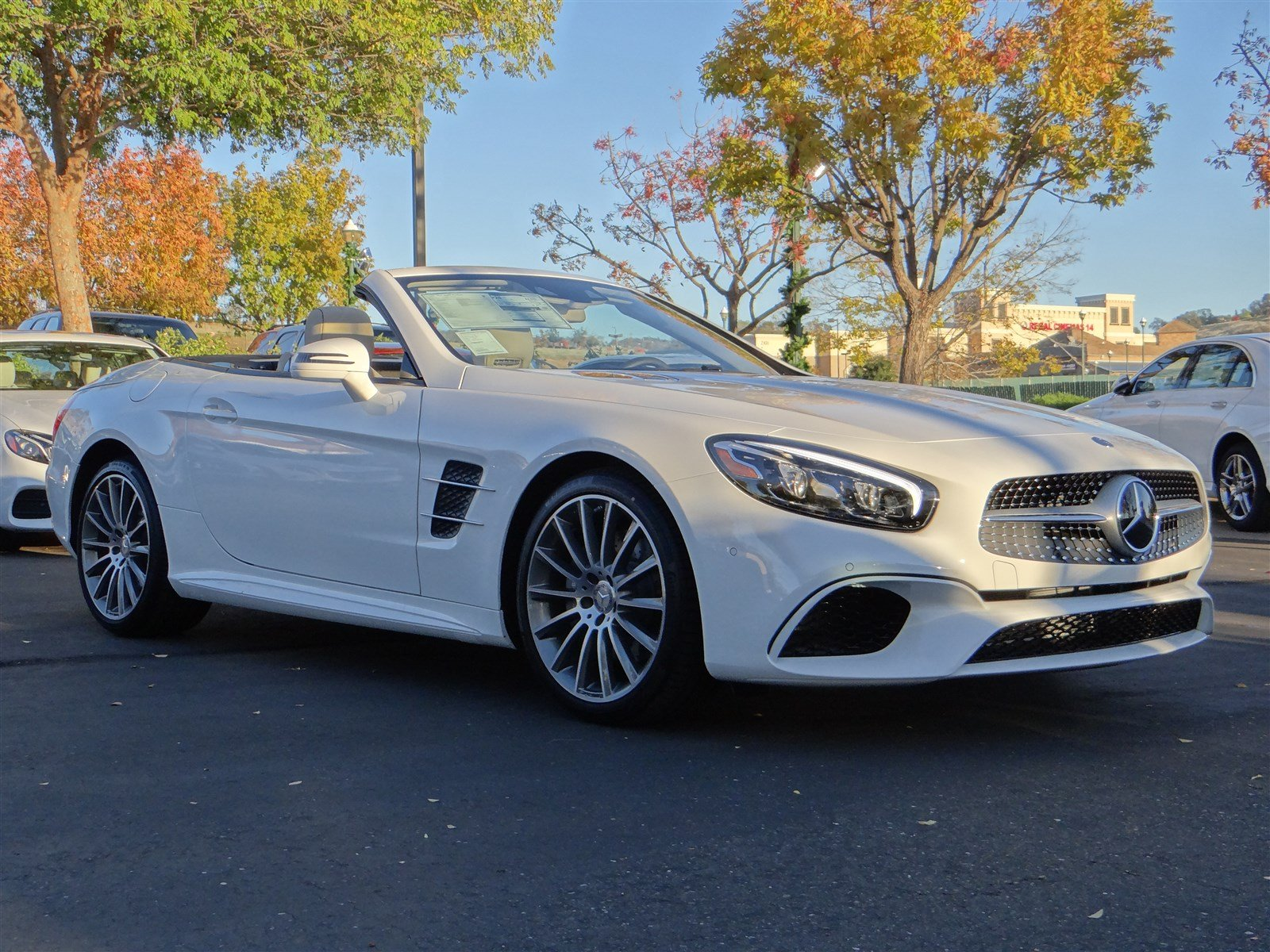 New 2017 mercedes benz sl sl550 roadster in el dorado for Mercedes benz of el dorado hills